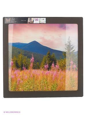 Альпийский луг DECORETTO. Цвет: розовый, зеленый, бежевый