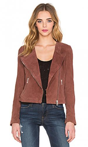 Мото куртка cosma NUE 19.04. Цвет: коричневый