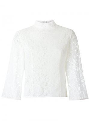 Lace blouse Martha Medeiros. Цвет: белый