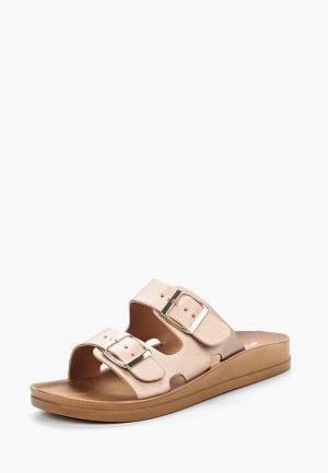 Сабо Style Shoes. Цвет: золотой