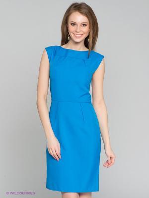 Платье Capriz. Цвет: лазурный