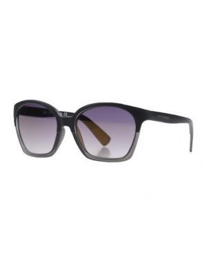 Солнечные очки 55DSL. Цвет: стальной серый