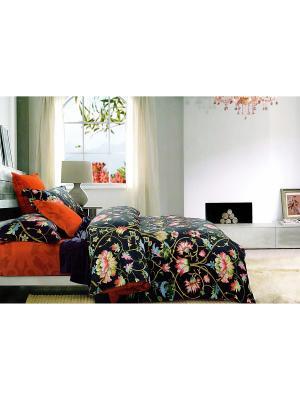 Комплект постельного белья, Семейный Sofi de Marko. Цвет: черный, красный, белый