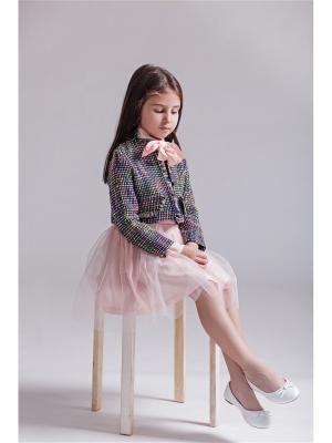 Жакет ETE CHILDREN. Цвет: черный, розовый