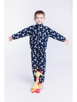 Комплект Зоопарк: Жираф ЛисФлис. Цвет: темно-синий