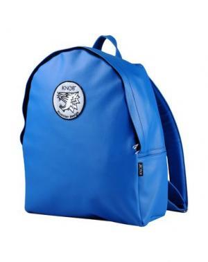 Рюкзаки и сумки на пояс KNOB. Цвет: лазурный