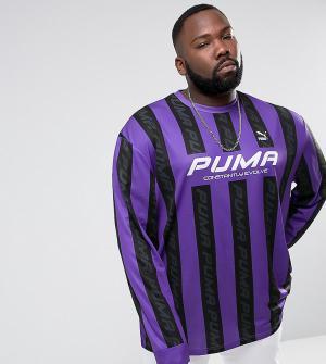 Puma Фиолетовый трикотажный топ в стиле ретро PLUS эксклюзивно для ASO. Цвет: фиолетовый