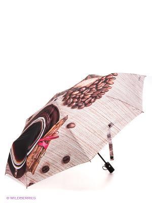 Зонт Flioraj. Цвет: коричневый