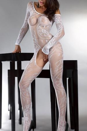 Комбинезон Abra White Livia Corsetti. Цвет: белый