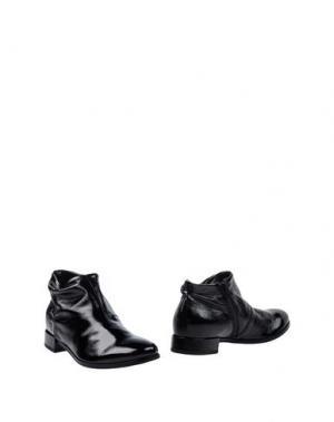 Полусапоги и высокие ботинки LILIMILL. Цвет: черный