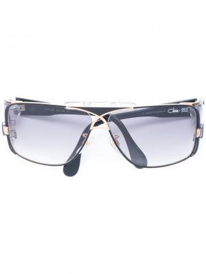 Солнцезащитные очки с градиентными стеклами Cazal. Цвет: серый