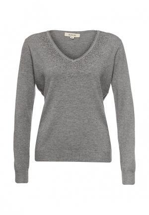 Пуловер Blue Oltre. Цвет: серый