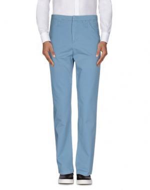 Повседневные брюки SURFACE TO AIR. Цвет: грифельно-синий