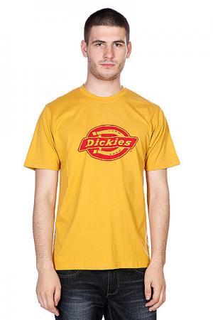Футболка  Hs One Color Gold Fusion Dickies. Цвет: желтый