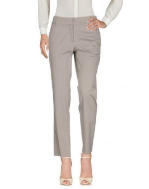 Повседневные брюки GUNEX. Цвет: серый
