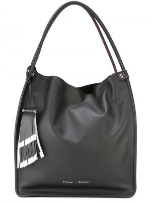 Большая сумка-тоут Proenza Schouler. Цвет: чёрный