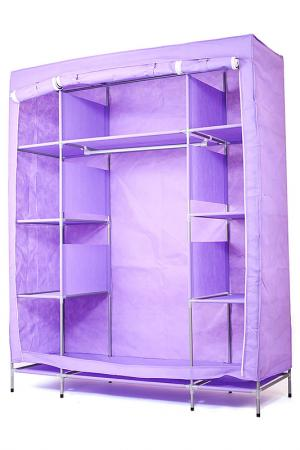 Тканевый шкаф BraBag. Цвет: фиолетовый