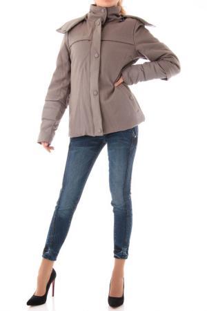 Куртка Cristina Gavioli. Цвет: серый