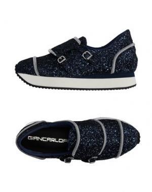 Низкие кеды и кроссовки GIANCARLO PAOLI. Цвет: темно-синий