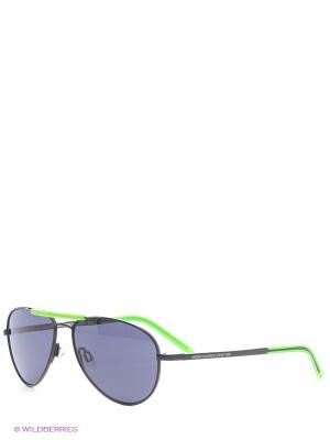 Очки солнцезащитные BB 597S 05 United Colors of Benetton. Цвет: синий, зеленый