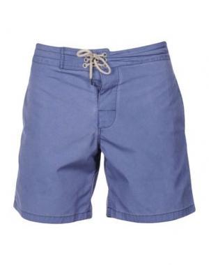 Пляжные брюки и шорты FAHERTY. Цвет: синий