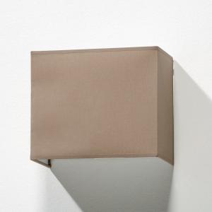 Светильник настенный прямоугольный, Sio La Redoute Interieurs. Цвет: серо-коричневый каштан