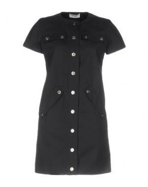 Короткое платье COURRÈGES. Цвет: свинцово-серый