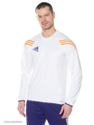 Лонгслив Adidas. Цвет: белый