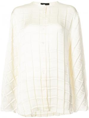 Buttoned blouse The Row. Цвет: белый