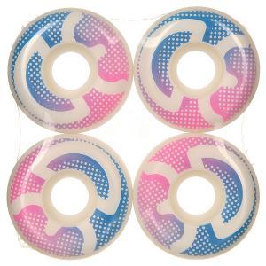Колеса для скейтборда  Logo Dots 98A 51 mm 3D. Цвет: белый,розовый,синий