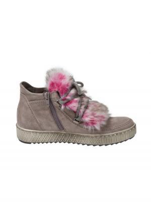 Ботинки GABOR. Цвет: серо-коричневый/ярко-розовый
