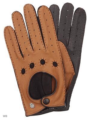 Перчатки Roeckl. Цвет: кремовый, коричневый