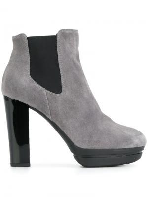 Ботинки Челси Hogan. Цвет: серый