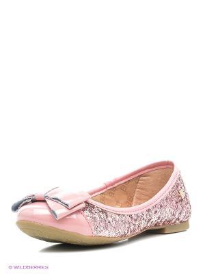 Балетки Bibi. Цвет: розовый