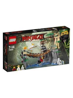 Ninjago Битва Гармадона и Мастера Ву 70608 LEGO. Цвет: синий