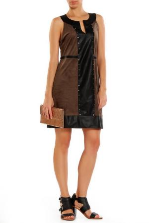 Платье Cherry Couture. Цвет: коричневый