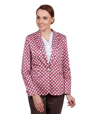 Пиджак ELNY. Цвет: розовый