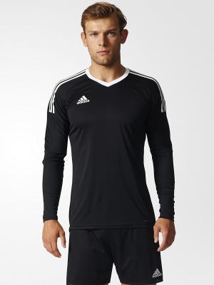Лонгслив Adidas. Цвет: черный