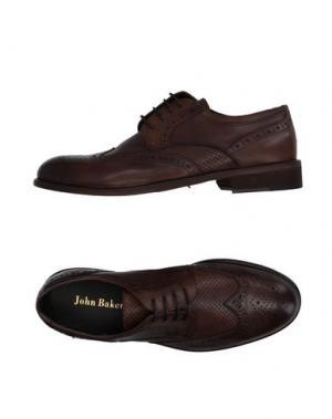 Обувь на шнурках JOHN BAKERY. Цвет: хаки