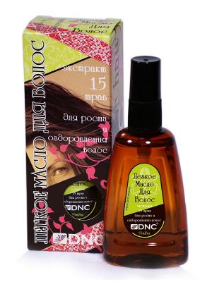Легкое масло для волос, 55 мл DNC. Цвет: прозрачный
