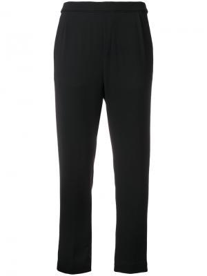 Укороченные брюки Massimo Alba. Цвет: чёрный