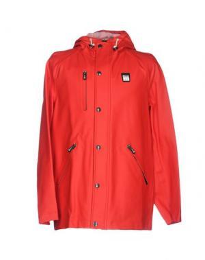 Легкое пальто BLAUER. Цвет: красный