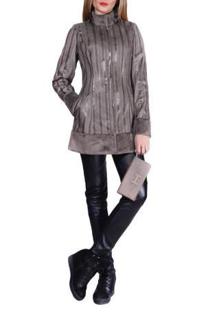Пальто FRANCESCA LUCINI. Цвет: мокко