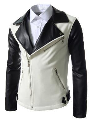 Куртка VipDressCode. Цвет: черный, белый