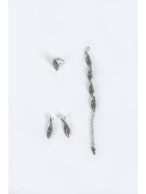 Комплект бижутерии Skifska Etnika. Цвет: серебристый
