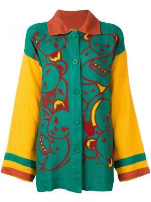 Рубашка с принтом плюшевых медведей Jc De Castelbajac Vintage. Цвет: многоцветный