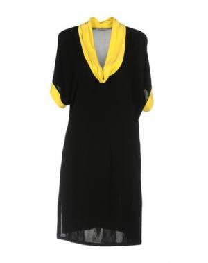 Короткое платье BARONI. Цвет: черный