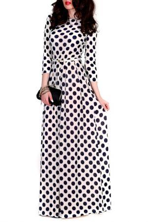 Платье MONT PELLIER. Цвет: молочный