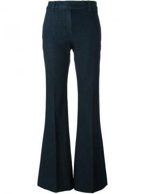 Расклешенные джинсы Brunello Cucinelli. Цвет: синий