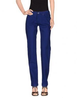 Джинсовые брюки 19.70 NINETEEN SEVENTY. Цвет: ярко-синий